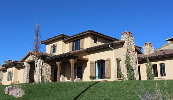 Traditional European Homes In Boise Culpan And Company